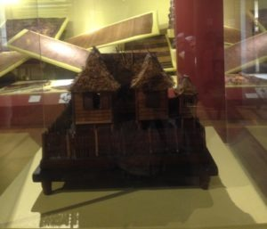 Traditional Philippine Tribal House Scale Model