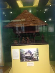 Traditional Indigenous Philippine Tribal House Scale Model